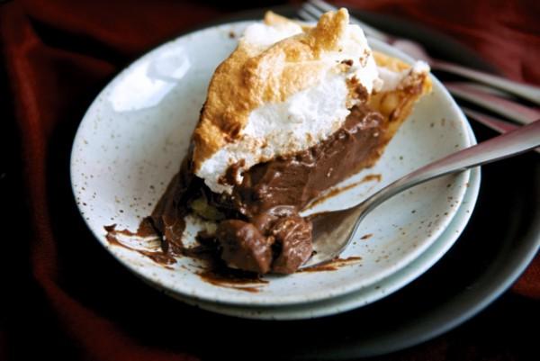 그녀가 선택한 힐링 디저트, 초콜렛 크림 파이