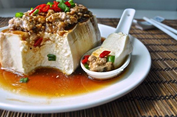 초간단 맛난 밥도둑, 중국식 두부 찜