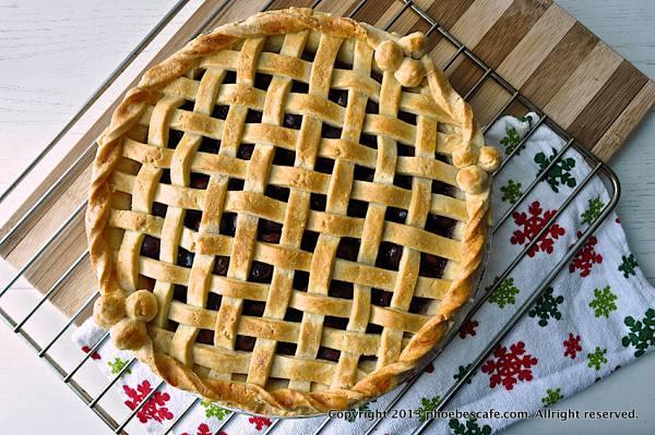 체리 파이, 작은 과일로 파이 만들기