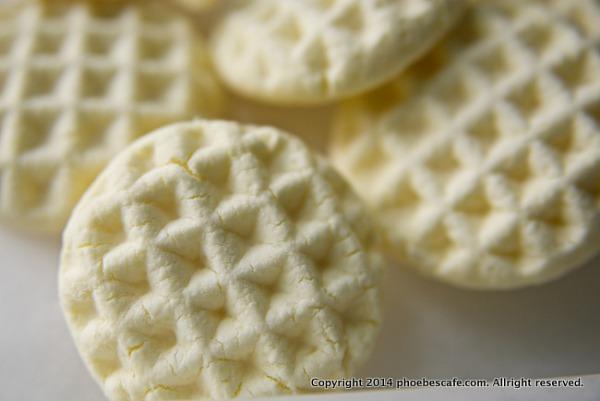 입에서 녹는 과자 전분 쿠키