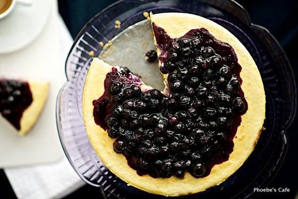 블루베리 뉴욕 스탈 치즈케익