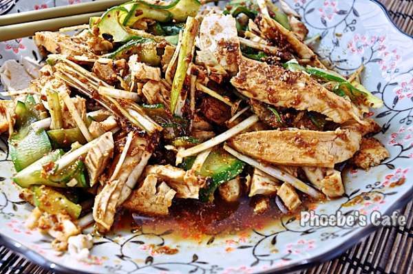 사천 요리, 중국 닭냉채 방방지(棒棒雞)