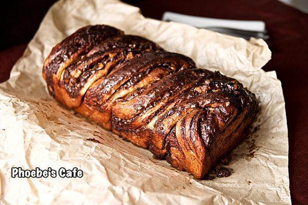 유태인 발효 케익, 초콜렛 밥카