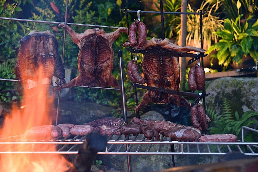 홍콩에서 남미 바베큐 아사도 파티